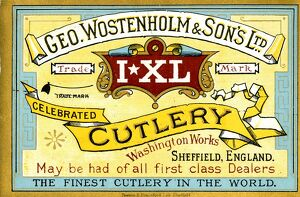 Advertisement: George Wostenholm and Son Ltd