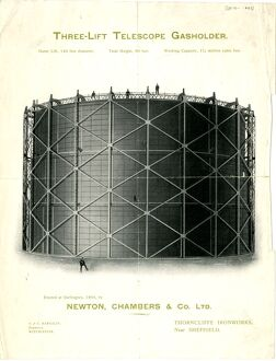 Advertisement for Newton Chambers and Co Ltd