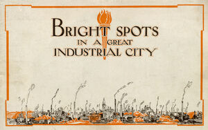 Bright Spots in a Great Industrial City, Sheffield, Yorkshire, 1934