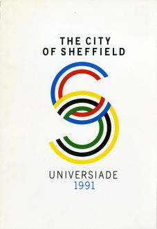 Cover of The City of Sheffield Universiade 1991 [bid to the British Student Sports