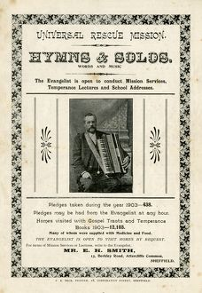 Cover of Universal Rescue Mission: hymns and solos, 1903