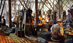 Cyclops Works, forging files, 1918