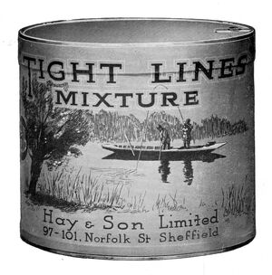 Hay and Son Ltd Tight Lines tobacco, 1937