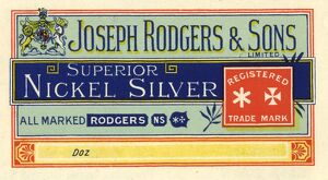 Joseph Rodgers and Sons Ltd, Cutlery Manufacturer, 6 Norfolk Street - extract