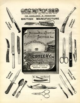 Needham, Veall and Tyzack Ltd., Eye Witness Works, Cutlery Manufacturers, 1919