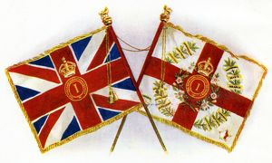The New Colours of The York and Lancaster Regiment