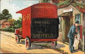 Royal Mail: Greetings from Sheffield, c. 1910