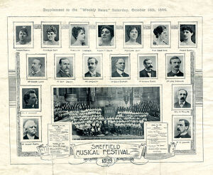 Sheffield Musical Festival, 1899
